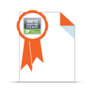 Zend Framework Certification Exam Voucher