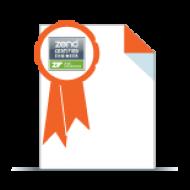 Zend Framework Certification Exam Voucher